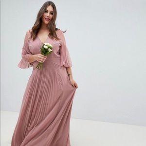 NWT ASOS floor length bridesmaid dress SZ 22